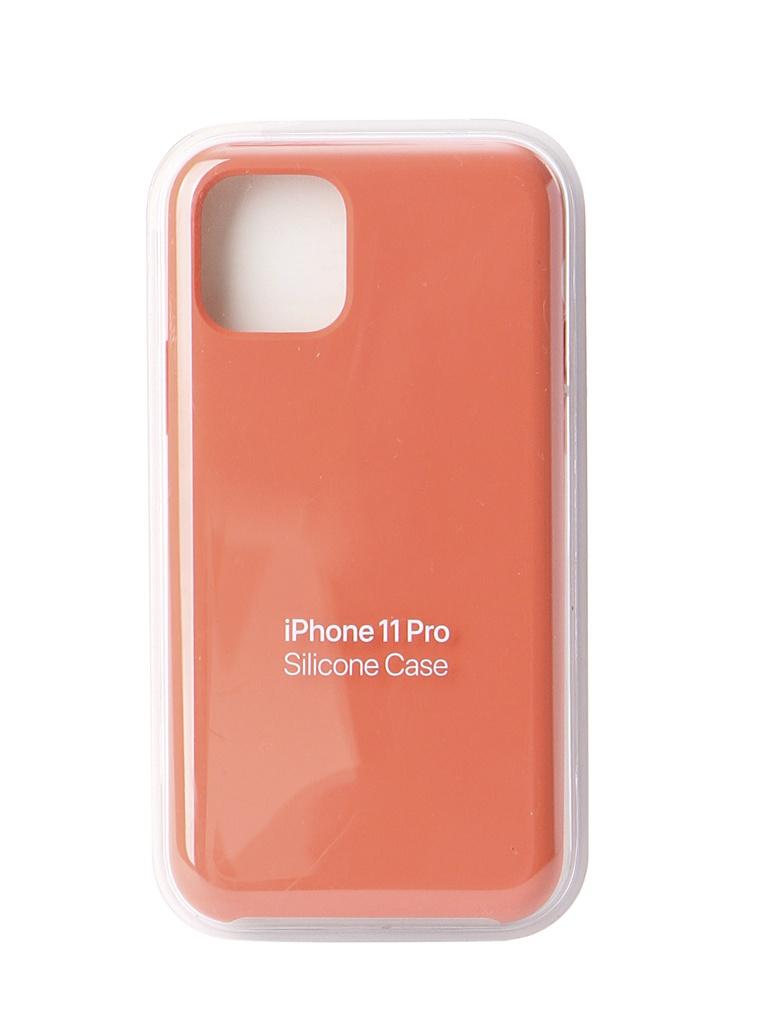 Аксессуар Чехол для APPLE iPhone 11 Pro Silicone Case Clementine Orange MWYQ2ZM/A
