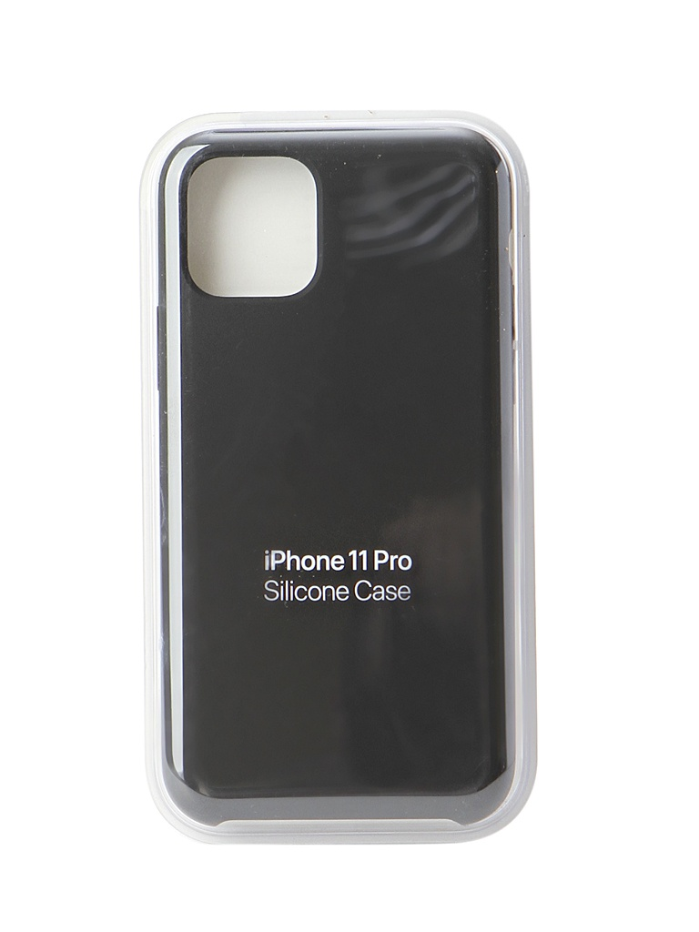 Аксессуар Чехол для APPLE iPhone 11 Pro Silicone Case Black MWYN2ZM/A