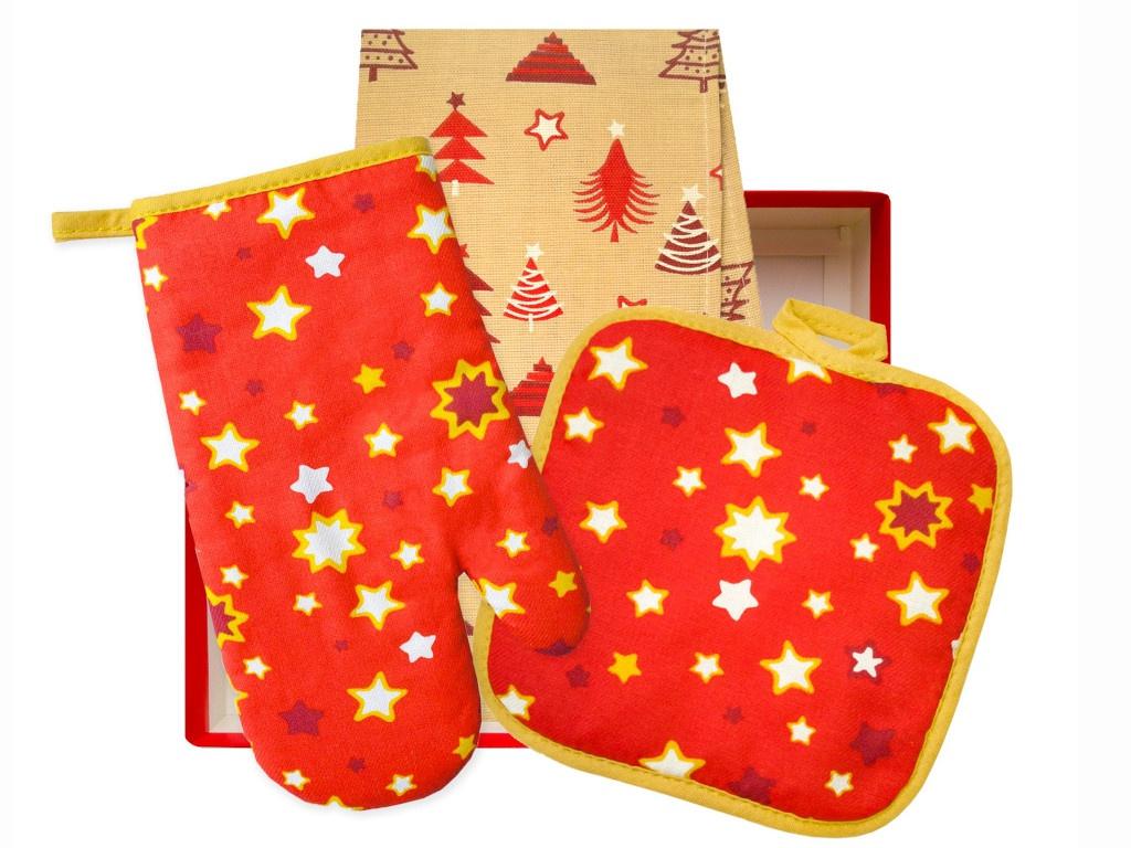 Подарочный набор для кухни Bonita Рождественская звезда 11010818982