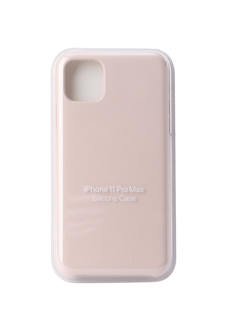 цена на Чехол для APPLE iPhone 11 Pro Max Silicone Case Pink Sand MWYY2ZM/A