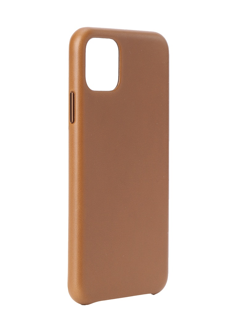 Чехол для APPLE iPhone 11 Pro Max Leather Case Saddle Brown MX0D2ZM/A