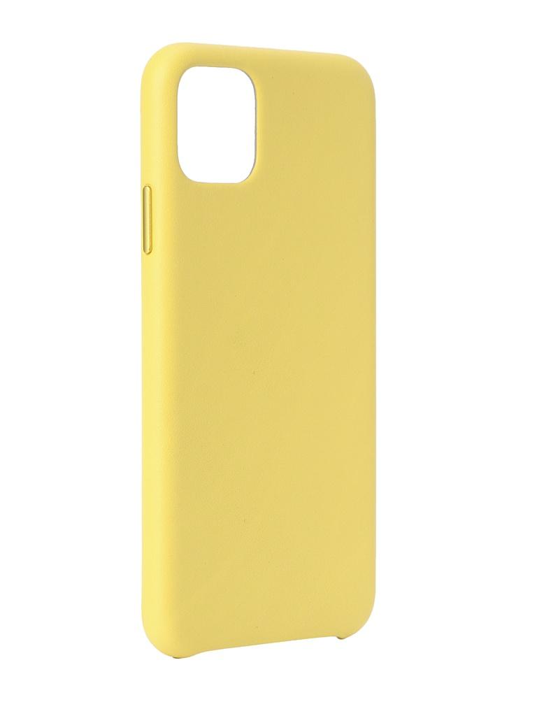 Чехол для APPLE iPhone 11 Pro Max Leather Case Meyer Lemon MX0A2ZM/A
