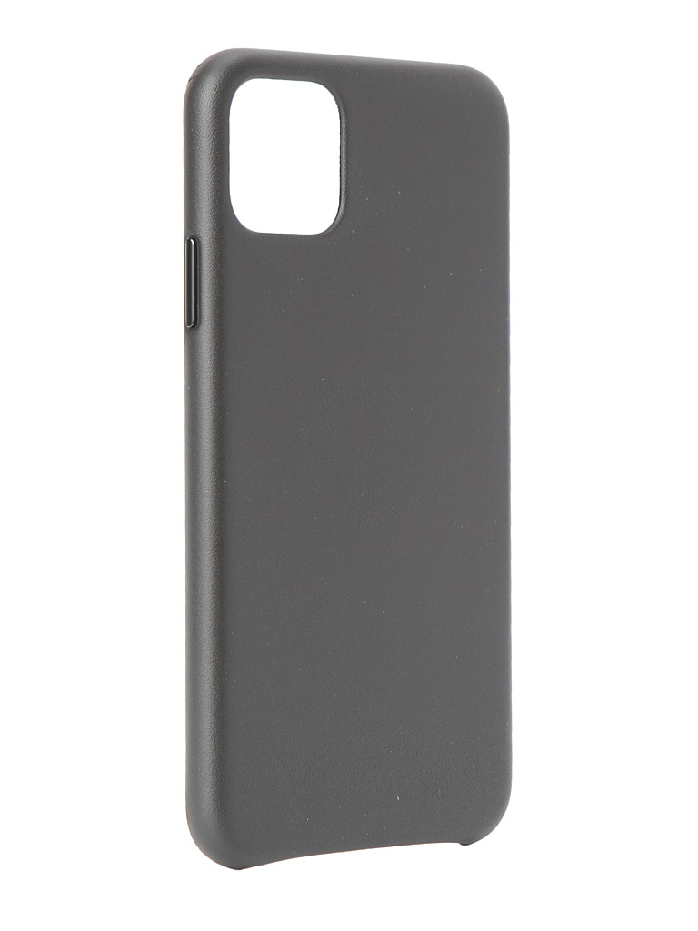 Чехол для APPLE iPhone 11 Pro Max Leather Case Black MX0E2ZM/A