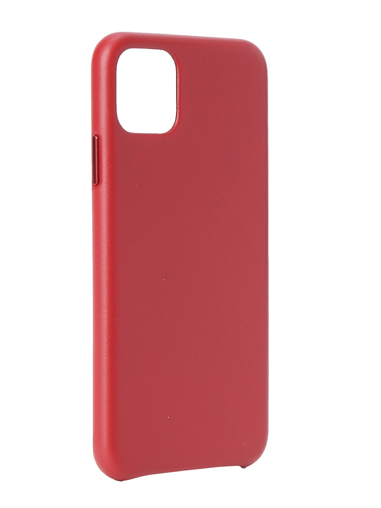 Чехол для APPLE iPhone 11 Pro Max Leather Case Red MX0F2ZM/A