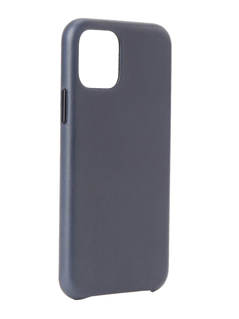 Аксессуар Чехол для APPLE iPhone 11 Pro Leather Case Midnight Blue MWYG2ZM/A
