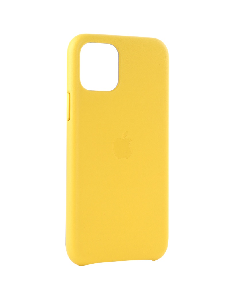 Чехол для APPLE iPhone 11 Pro Leather Case Meyer Lemon MWYA2ZM/A