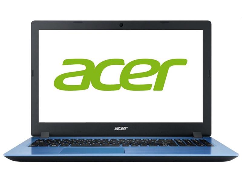 Ноутбук Acer Aspire A315-33-C1YS Light Blue NX.H63ER.001 (Intel Celeron N3060 1.6 GHz/4096Mb/128Gb SSD/Intel HD Graphics/Wi-Fi/Bluetooth/Cam/15.6/1366x768/Windows 10 Home 64-bit)