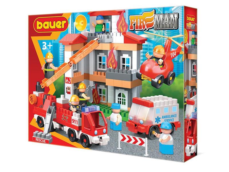 Конструктор Bauer Fireman Тушение пожара 743