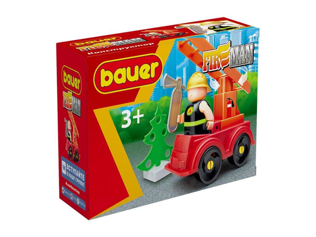 Конструктор Bauer Fireman Пожарная машина 737