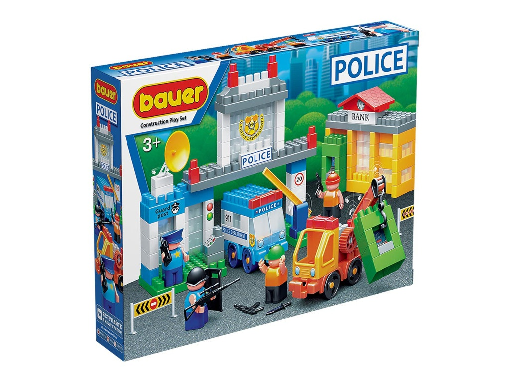 Конструктор Bauer Полиция. Ограбление банка 632
