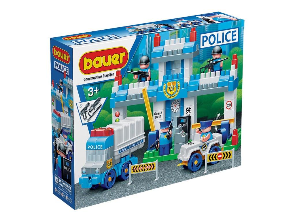 Конструктор Bauer Полиция. Полицейский участок 631