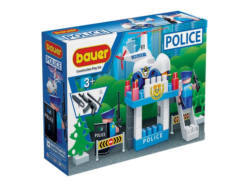 Конструктор Bauer Полиция. Вертолетная площадка 629