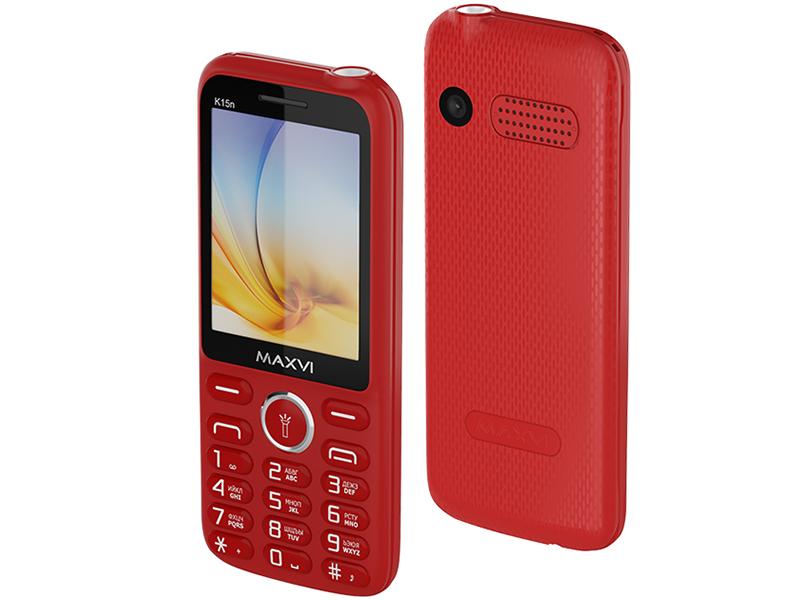 Сотовый телефон Maxvi K15n Red
