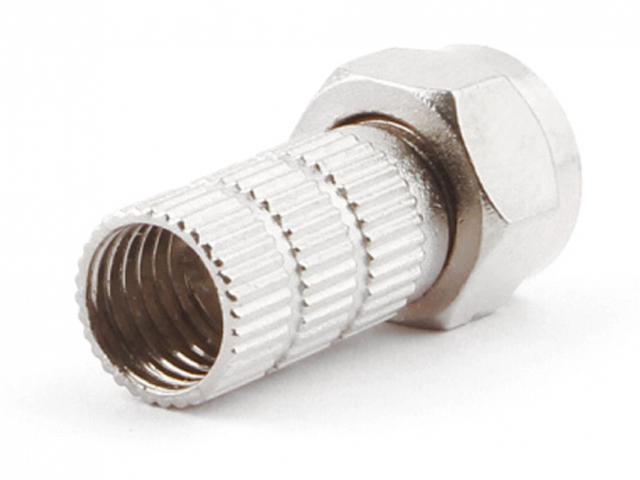 F-Коннектор Gembird Cablexpert для кабеля RG6 5шт SPL6-02
