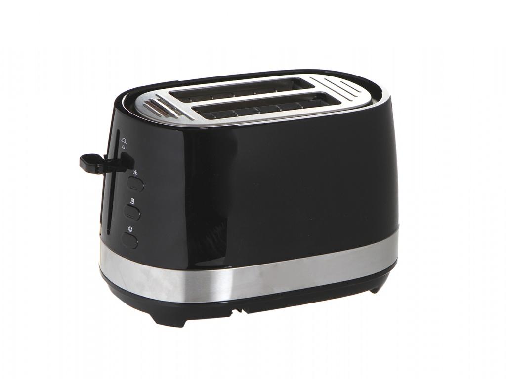 Тостер De'Longhi CTLA 2103 BK тостер de longhi ctoe 2103 bl icona elements синий