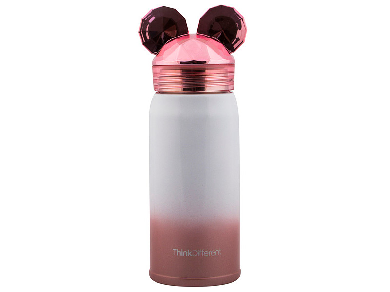 Новогодний сувенир Эврика Мышонок 19cm Pink 99468
