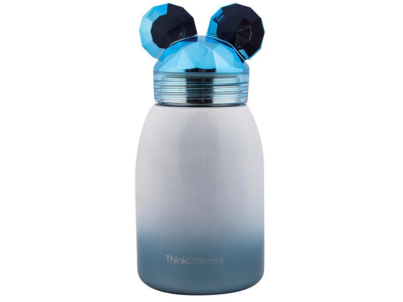 Новогодний сувенир Эврика Мышонок 17cm Blue 99471