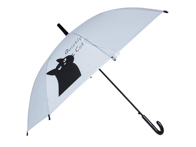 Зонт Эврика Черный котик Смирный 99560