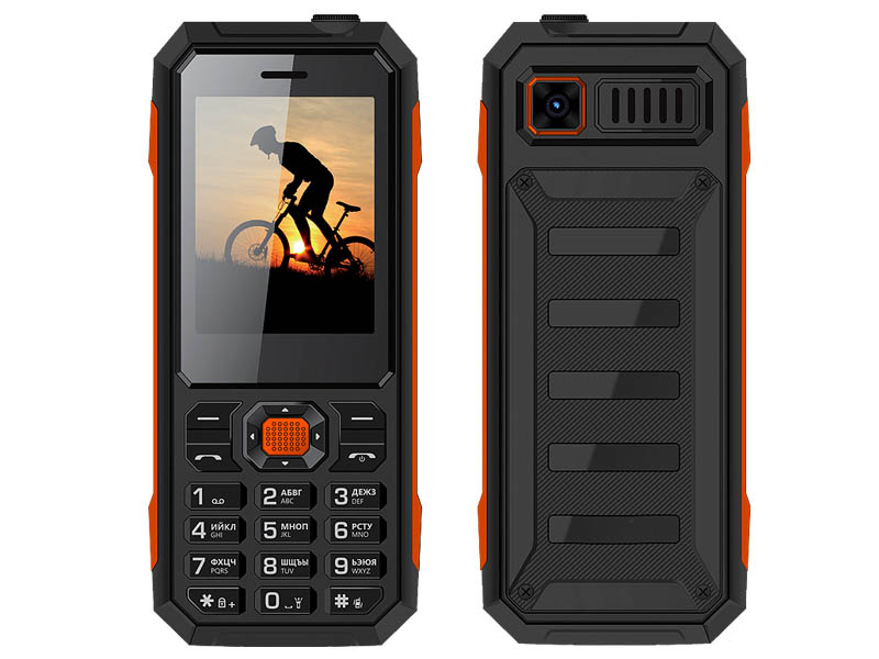 Сотовый телефон VERTEX K208 Black