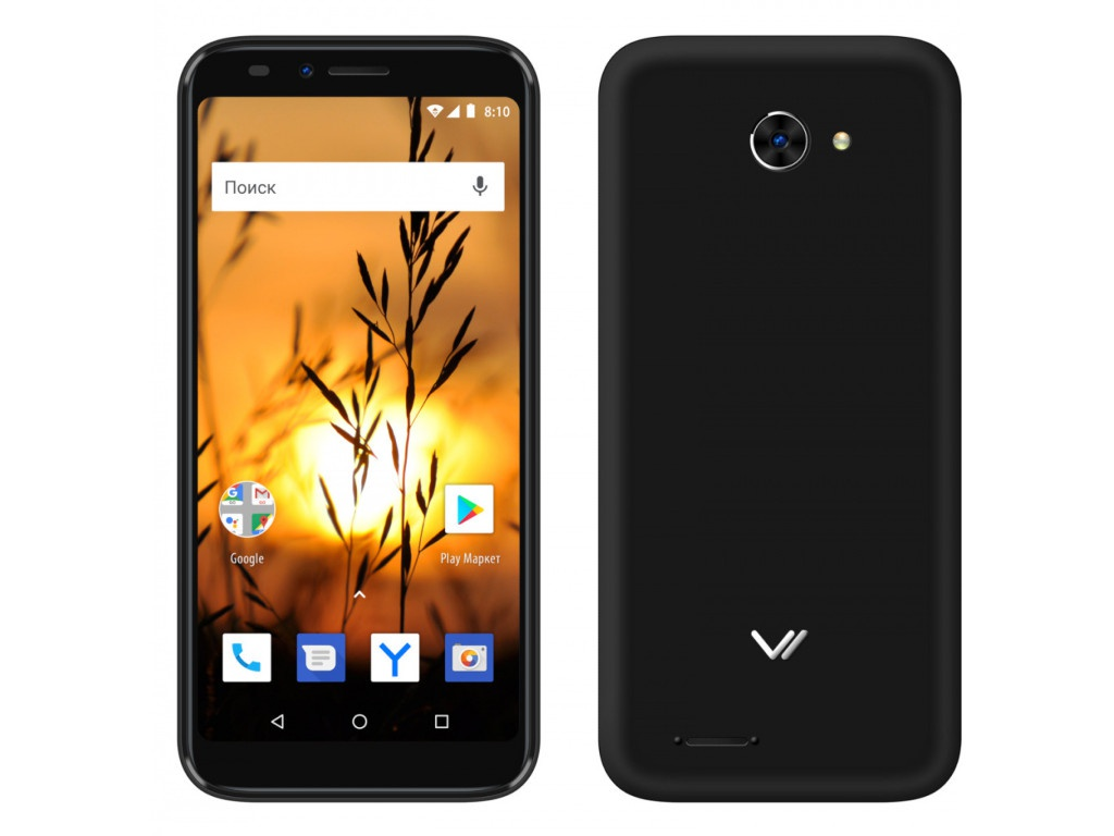 Сотовый телефон Vertex Impress Sunset NFC 4G Black