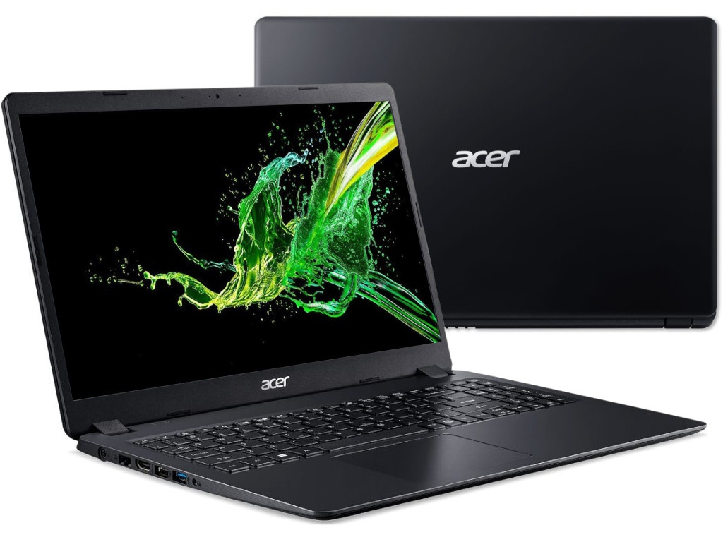 Ноутбук Acer Extensa EX215-51K-373H Black NX.EFPER.008 (Intel Core i3-7020U 2.3 GHz/4096Mb/1000Gb/Intel HD Graphics/Wi-Fi/Bluetooth/Cam/15.6/1920x1080/Linux)