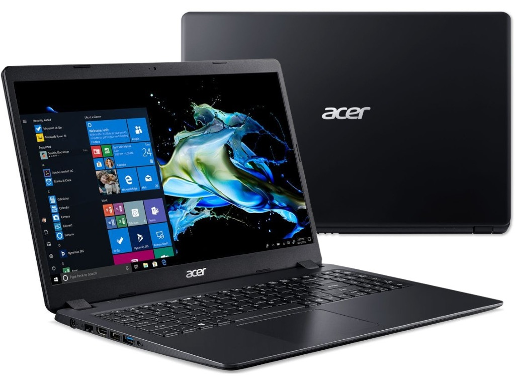 Ноутбук Acer Extensa EX215-51K-323K Black NX.EFPER.00F (Intel Core i3-7020U 2.3 GHz/4096Mb/128Gb SSD/Intel HD Graphics/Wi-Fi/Bluetooth/Cam/15.6/1366x768/Windows 10 Home 64-bit)