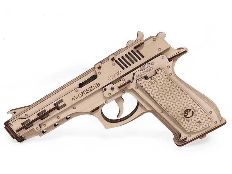 Конструктор Lemmo Пистолет-резинкострел с мишенями 00-64