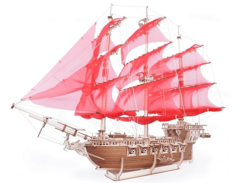 Сборная модель Lemmo Корабль Пегас 01-40