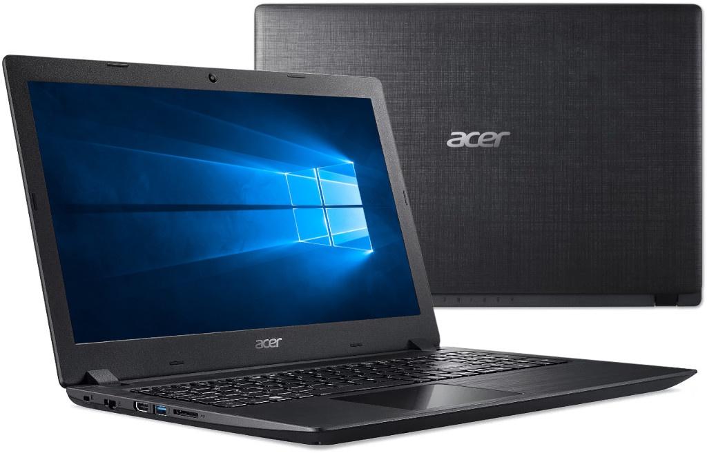 Ноутбук Acer Aspire A315-32-P5U9 Black NX.GVWER.016 (Intel Pentium N5000 1.1 GHz/4096Mb/500Gb/Intel HD Graphics/Wi-Fi/Bluetooth/Cam/15.6/1920x1080/Windows 10 Home 64-bit) — A315-32-P5U9