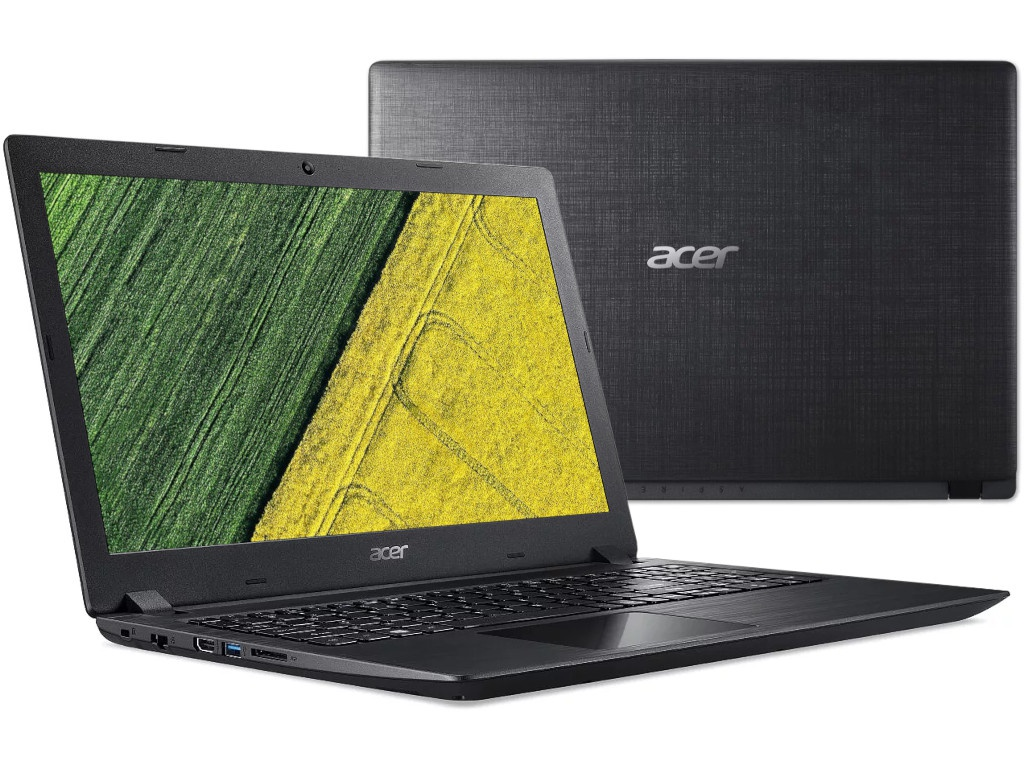 Ноутбук Acer Aspire A315-32-C5U6 Black NX.GVWER.017 (Intel Celeron N4000 1.1 GHz/4096Mb/128Gb SSD/Intel HD Graphics/Wi-Fi/Bluetooth/Cam/15.6/1366x768/Linux)