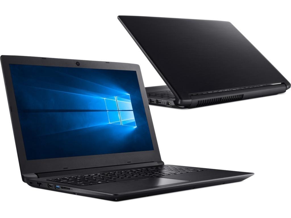 Ноутбук Acer Aspire A315-41-R2S6 Black NX.GY9ER.007 (AMD Ryzen 3 2200U 2.5 GHz/4096Mb/1000Gb/AMD Radeon Vega 3/Wi-Fi/Bluetooth/Cam/15.6/1366x768/Windows 10 Home 64-bit)