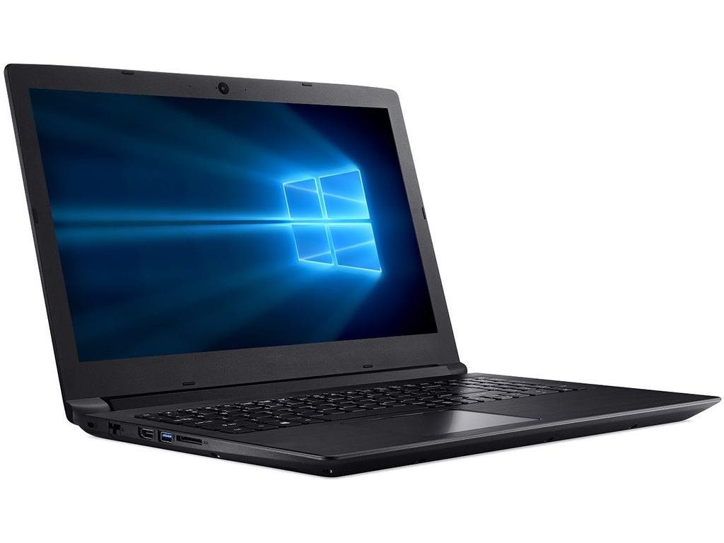 Ноутбук Acer Aspire A315-53-P9K9 Black NX.H38ER.028 (Intel Pentium 4417U 2.3 GHz/4096Mb/256Gb SSD/Intel HD Graphics/Wi-Fi/Bluetooth/Cam/15.6/1920x1080/Windows 10 Home 64-bit)