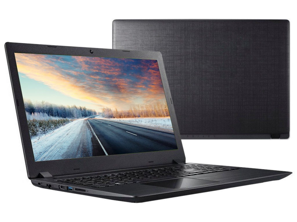 Ноутбук Acer Aspire A315-51-3586 Black NX.H9EER.009 (Intel Core i3-7020U 2.3 GHz/4096Mb/1000Gb/Intel HD Graphics/Wi-Fi/Bluetooth/Cam/15.6/1366x768/Linux)
