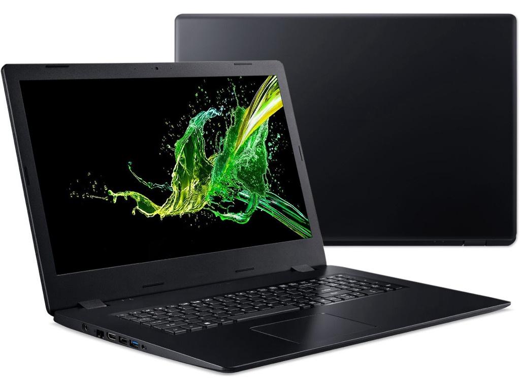 Ноутбук Acer Aspire A317-51KG-323V Black NX.HELER.002 (Intel Core i3-7020U 2.3 GHz/4096Mb/1000Gb/nVidia GeForce MX130 2048Mb/Wi-Fi/Bluetooth/Cam/17.3/1600x900/Linux)