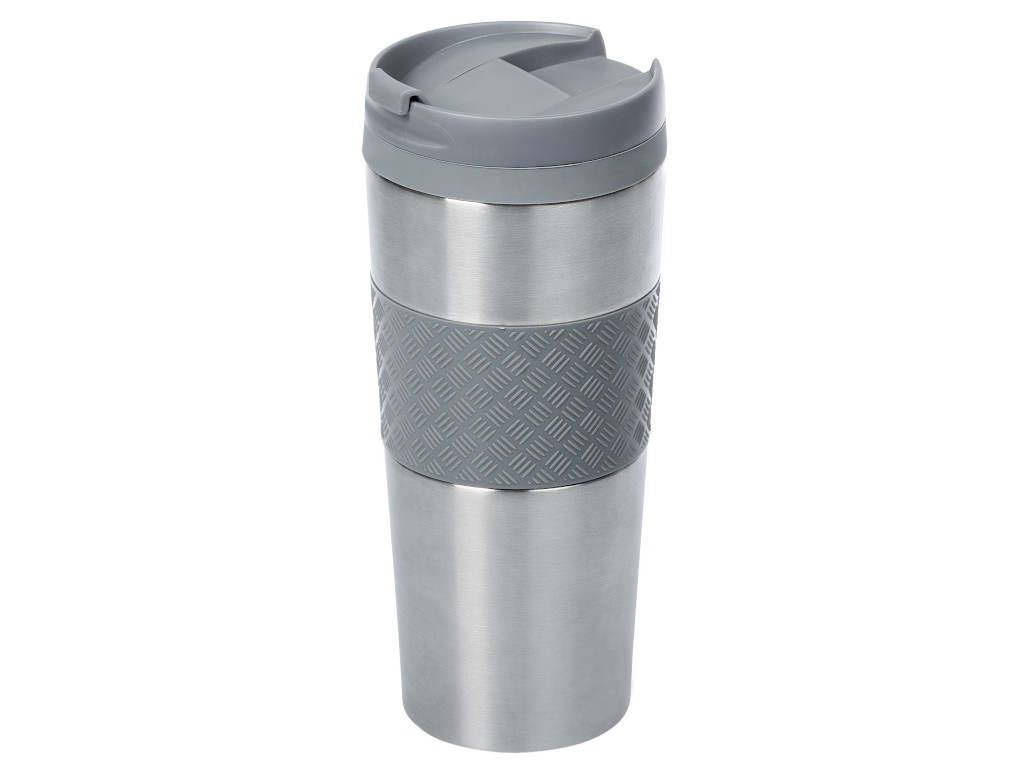 Термокружка Hard Work 420ml Steel-Grey 5393