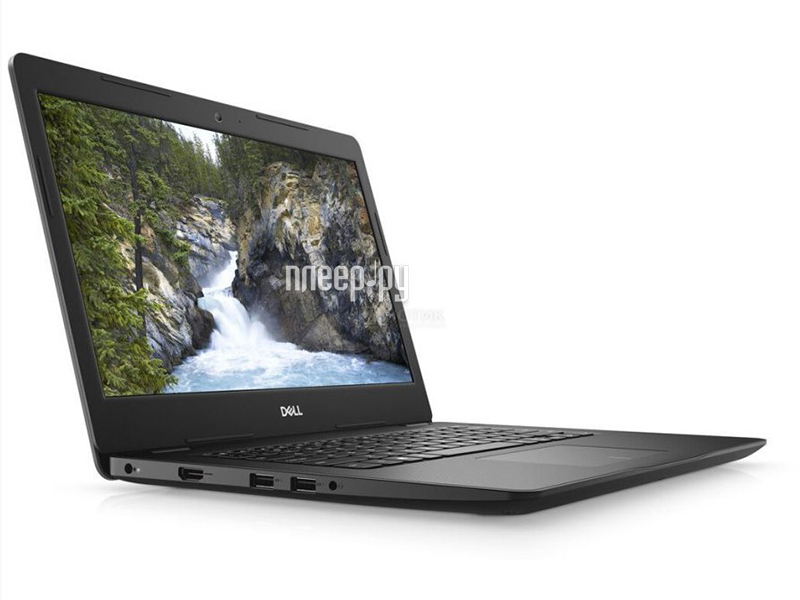Ноутбук Dell Vostro 3481 3481-4127 (Intel Core i3-7020U 2.3 GHz/8192Mb/256Gb SSD/No ODD/Intel UHD Graphics 620/Wi-Fi/Bluetooth/Cam/14/1920x1080/Windows 10 Pro)