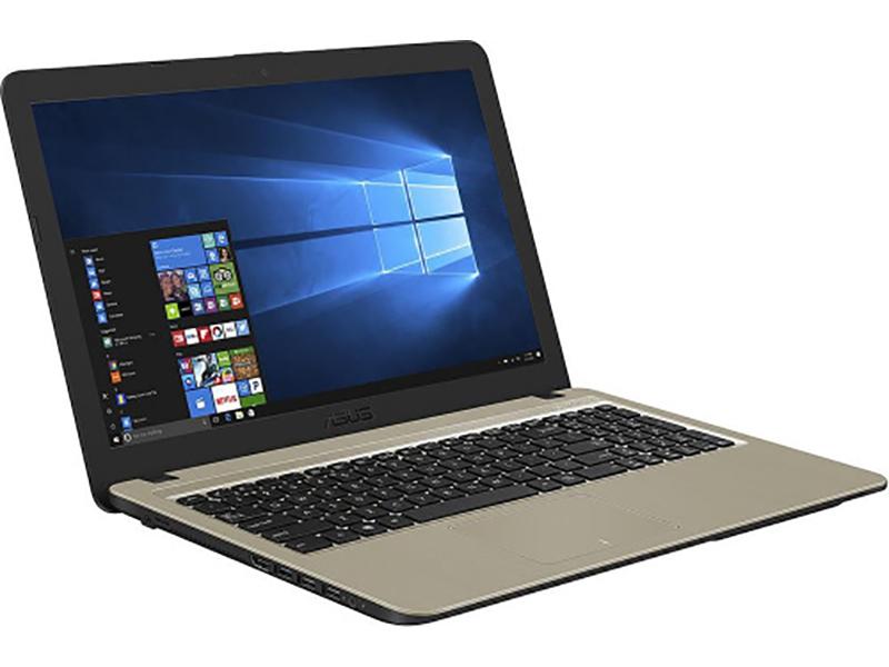 Ноутбук ASUS VivoBook X540BA-GQ001T 90NB0IY1-M01650 (AMD E2-9000 1.8GHz/4096Mb/500Gb/AMD Radeon R2/Wi-Fi/Bluetooth/Cam/15.6/1366x768/Windows 10 64-bit)