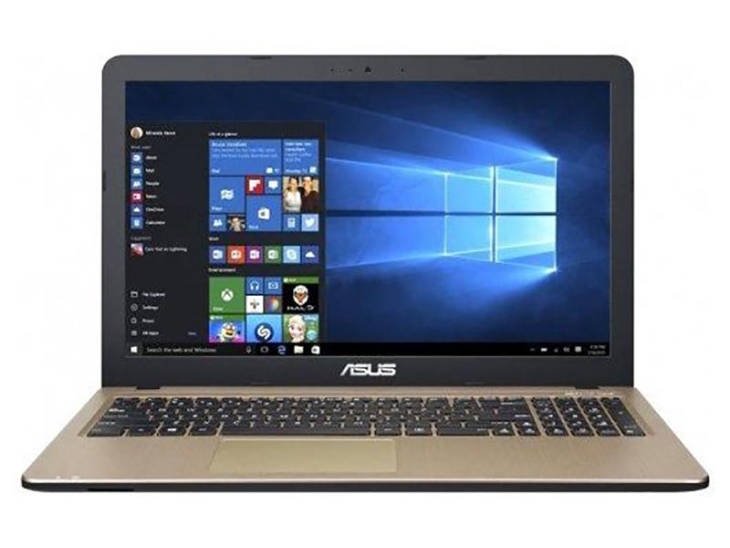 Ноутбук ASUS VivoBook R540BP-GQ133T 90NB0IZ1-M01690 (AMD A6-9225 2.6GHz/4096Mb/500Gb/AMD Radeon R5 M420 2048Mb/Wi-Fi/Bluetooth/Cam/15.6/1366x768/Windows 10 64-bit)
