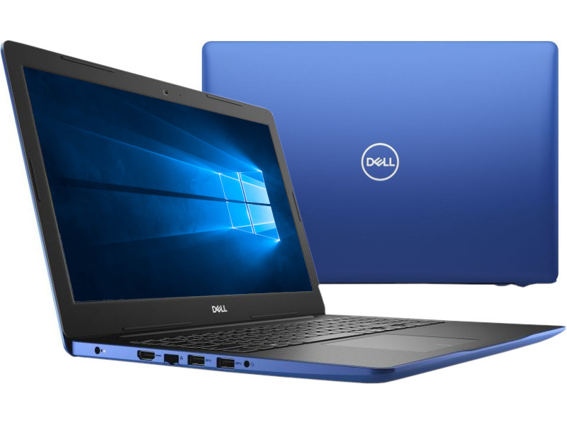 Ноутбук Dell Inspiron 3584 3584-3394 (Intel Core i3-7020U 2.3GHz/4096Mb/256Gb SSD/No ODD/Intel HD Graphics 620/Wi-Fi/Bluetooth/Cam/15.6/1920x1080/Windows 10)