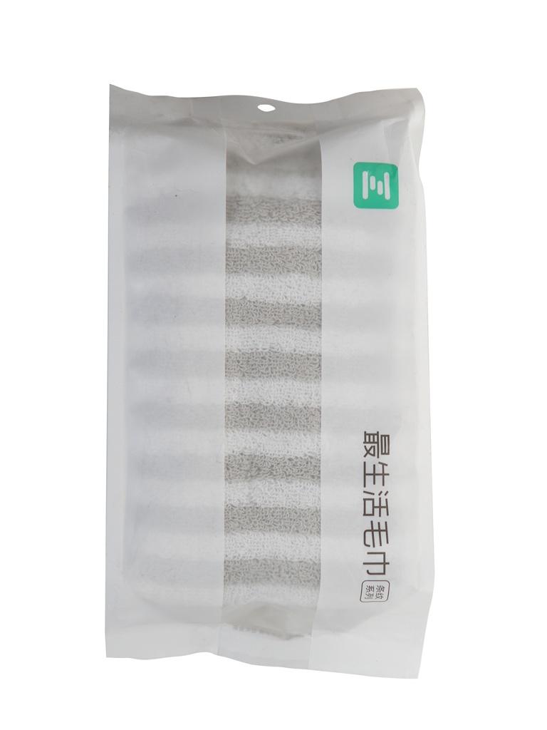 Полотенце Xiaomi Stripe Series ZSH 80x34cm Grey полотенце xiaomi zsh youth series 76х34 зеленый