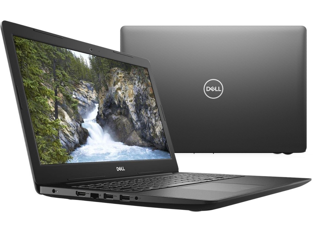 Ноутбук Dell Inspiron 3585 3585-1680 (AMD Ryzen 3 2300U 2.0GHz/4096Mb/1000Gb/No ODD/AMD Radeon Vega 6/Wi-Fi/Bluetooth/Cam/15.6/1366x768/Linux)
