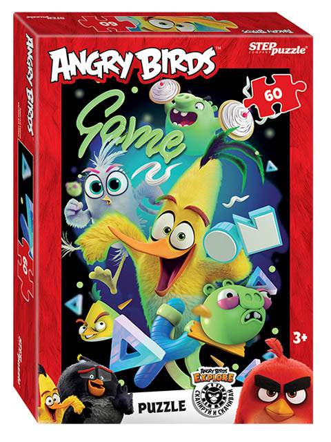 Пазл Step Puzzle Angry Birds 81185