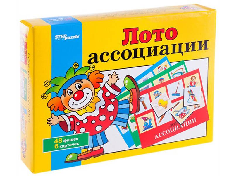 Настольная игра Step Puzzle Лото. Ассоциации 80302