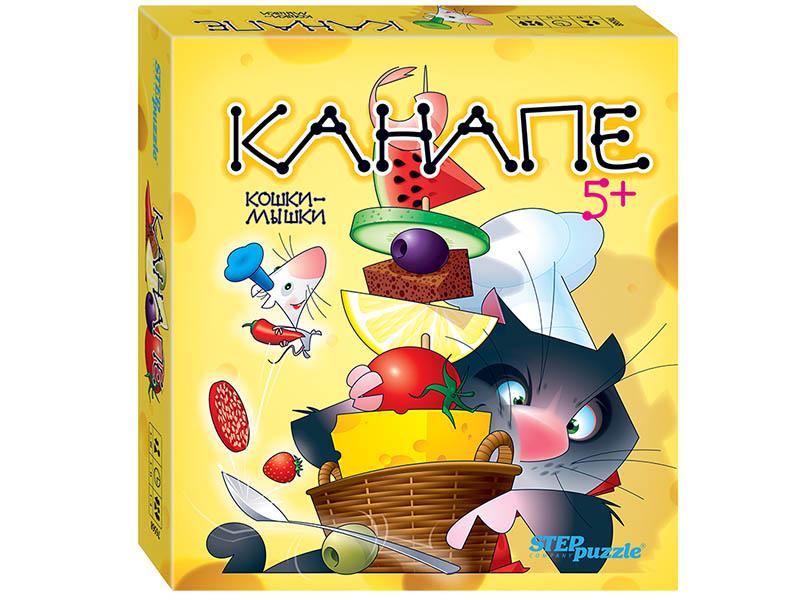 Настольная игра Step Puzzle Канапе Кошки-мышки 76568