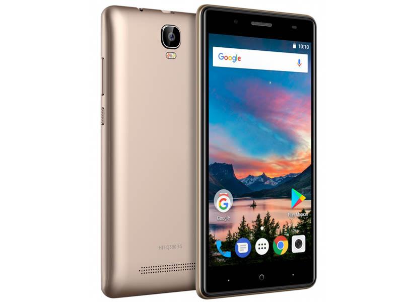 Сотовый телефон Digma HIT Q500 3G Gold
