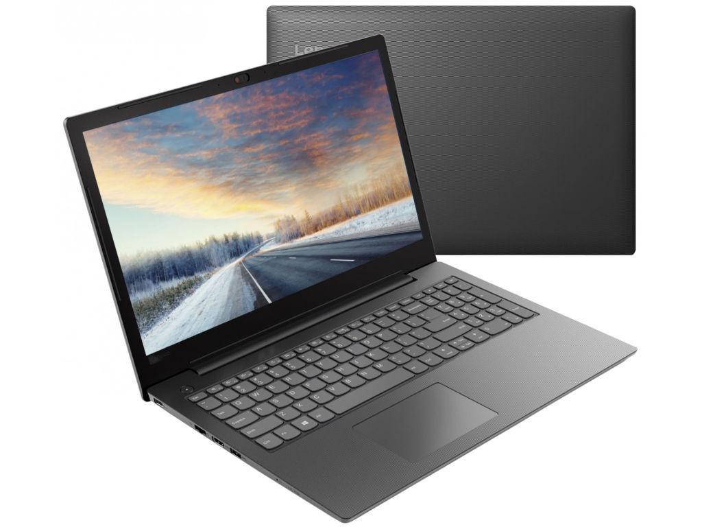 Ноутбук Lenovo V130-15IKB Iron Grey 81HN00QSRU (Intel Pentium 4417U 2.3 GHz/4096Mb/128Gb SSD/DVD-RW/Intel HD Graphics/Wi-Fi/Bluetooth/Cam/15.6/1920x1080/DOS)