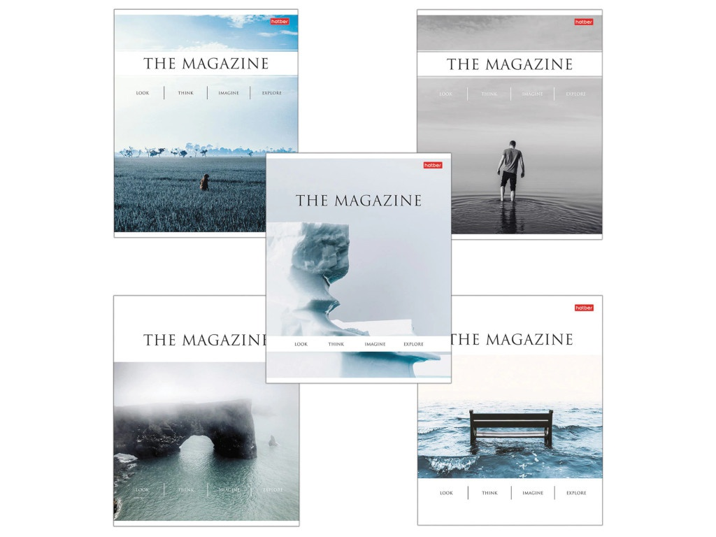 Тетрадь Hatber The Magazine А5 96 листов 96Т5вмВ1