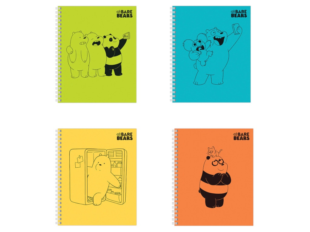 Тетрадь Hatber Вся правда о медведях А5 48 листов 48Т5В1гр