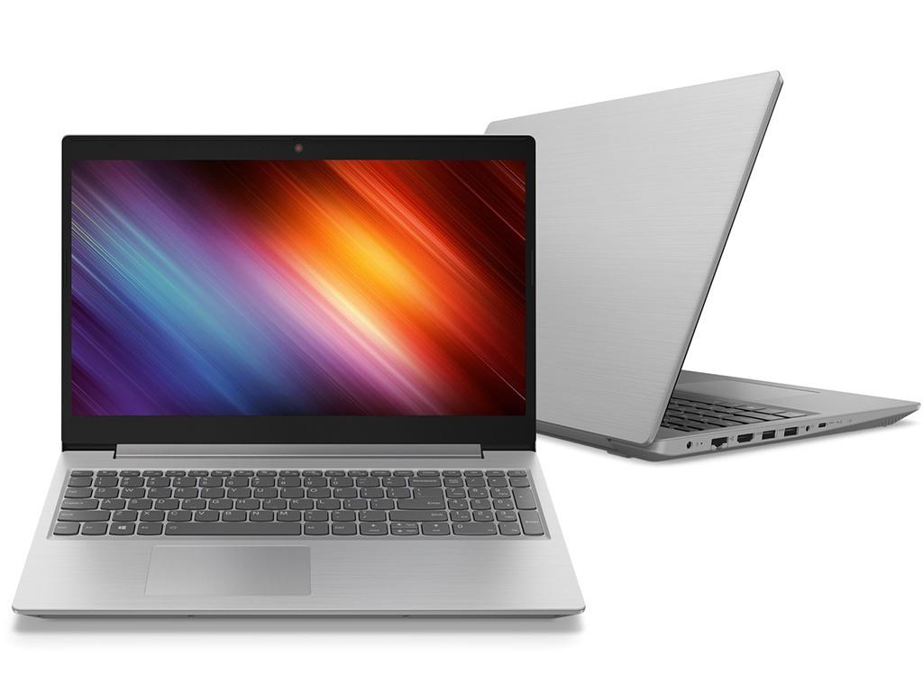 Ноутбук Lenovo IdeaPad L340-15IWL Grey 81LG00MSRK (Intel Core i3-8145U 2.1 GHz/4096Mb/1000Gb + 128Gb SSD/nVidia GeForce MX110 2048Mb/Wi-Fi/Bluetooth/Cam/15.6/1920x1080/DOS)
