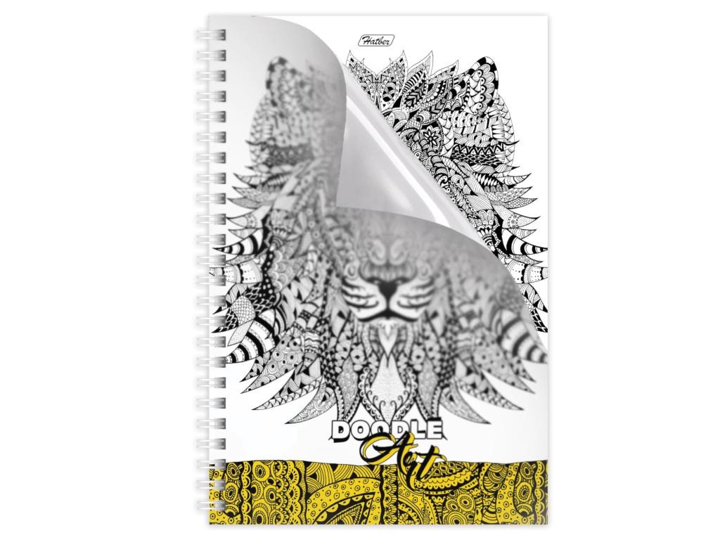 Тетрадь Hatber Dooble-Art HА5 96 листов 96Т5В1гр_16013